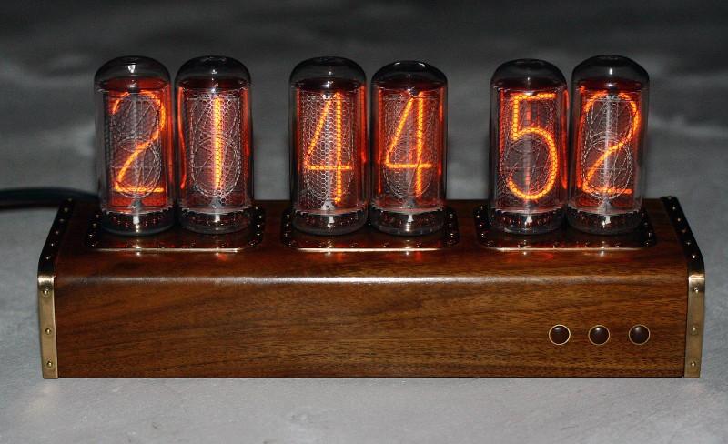 Ламповые часы
