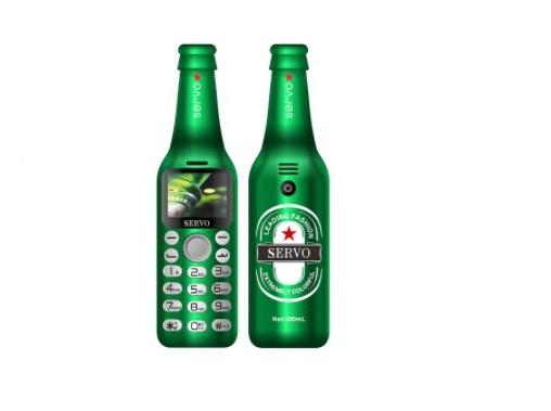 Мини-телефон бутылка
