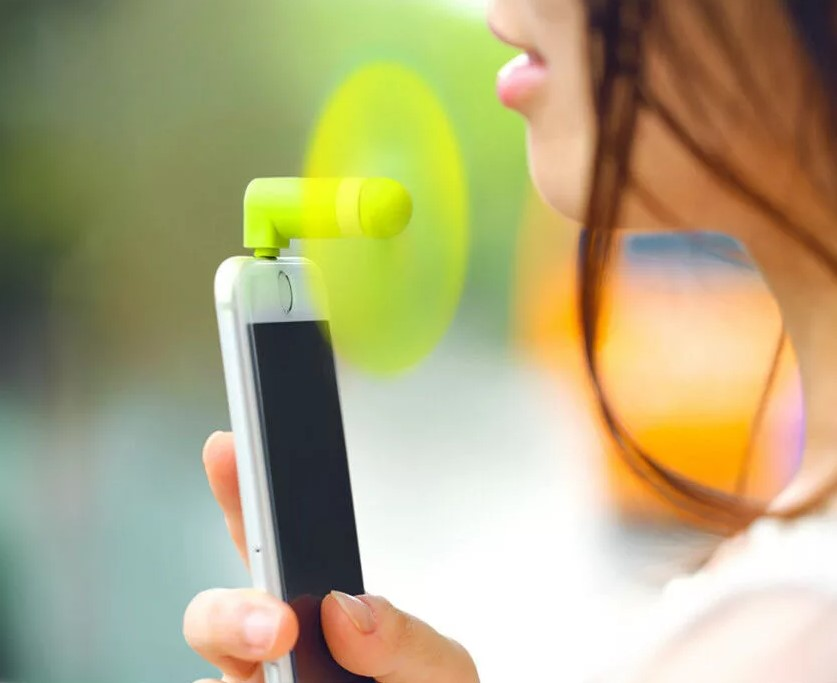 Вентилятор для смартфона