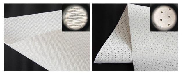 Звукопроницаемые экраны типы полотен